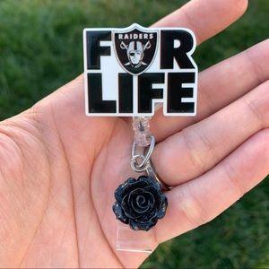 For Life Raiders Badge Holder